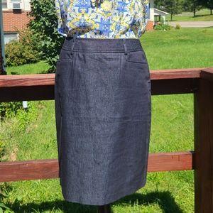 New York & Co demin skirt